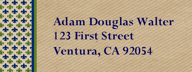 Courteous Eagle Scout Return Address Labels