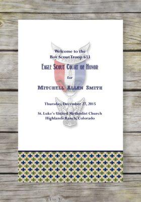 Courteous Eagle Scout Court of Honor Program