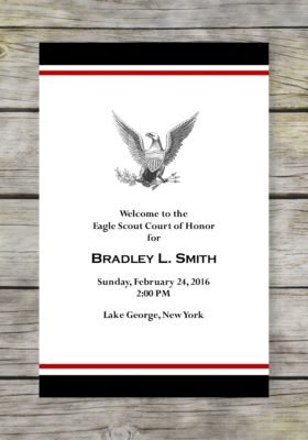 Dedicated Scout-Black Eagle Scout Court of Honor Program