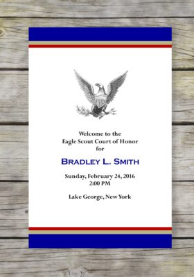 Dedicated Scout-Khaki Eagle Scout Court of Honor Program