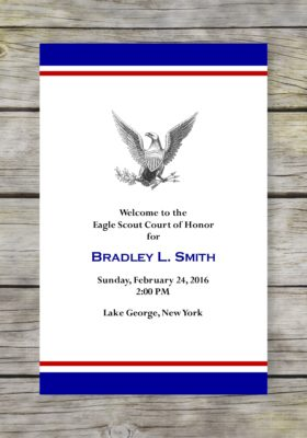 Dedicated Scout-Blue Eagle Scout Court of Honor Program
