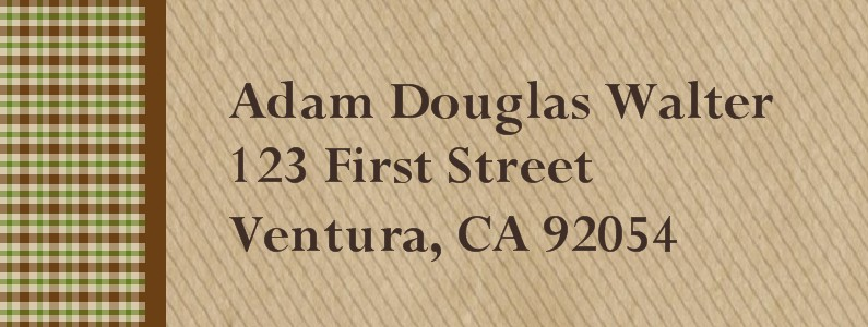Loyalty Eagle Scout Return Address Labels