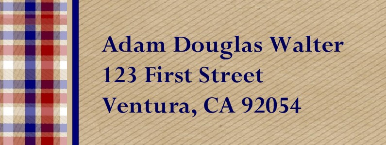 Memories Eagle Scout Return Address Labels