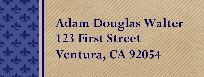 Triumphant Eagle Scout Return Address Labels