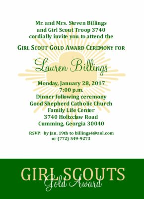 Courageous - Girl Scouts