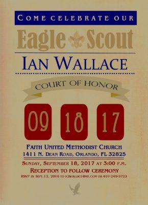 Helpful Eagle Scout Invitation