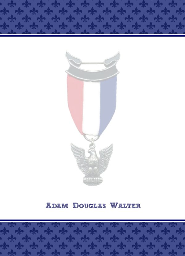 Proud Eagle Scout Flat Note Cards