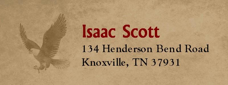 Vintage Scout Eagle Scout Return Address Labels