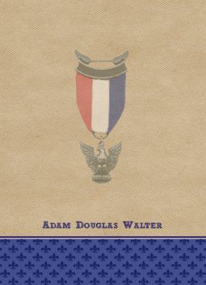 Triumphant Eagle Scout Flat Note Cards
