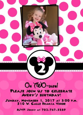 23Minnie Party