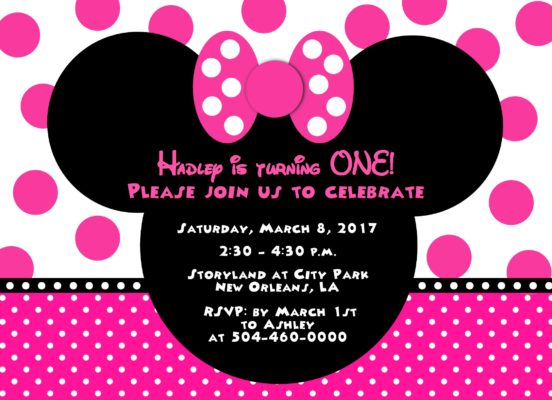 24Minnie Pink Party