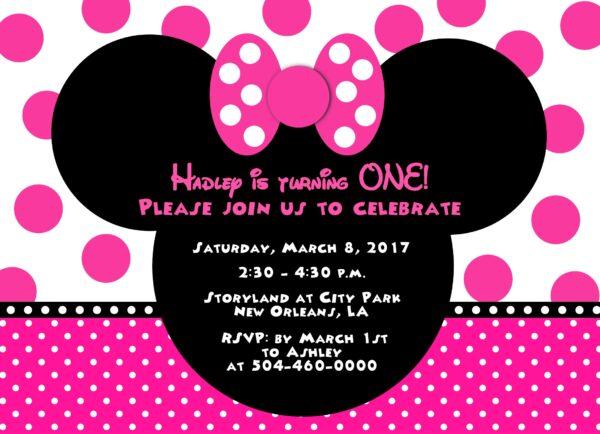 24Minnie Pink Party