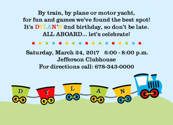 28Trains Party