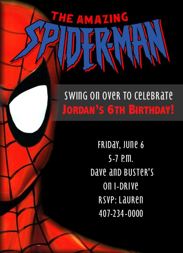 31Spiderman Party
