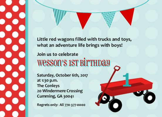 49Little Red Wagon Party