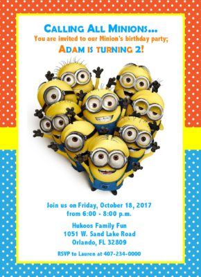 50Little Minion Party