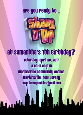 53Shake It Up Party