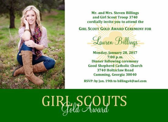 Courageous (photo) Girl Scouts
