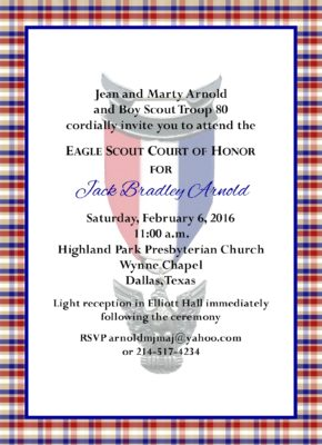 Product Categories Eagle Scout Court Of Honor Invitations
