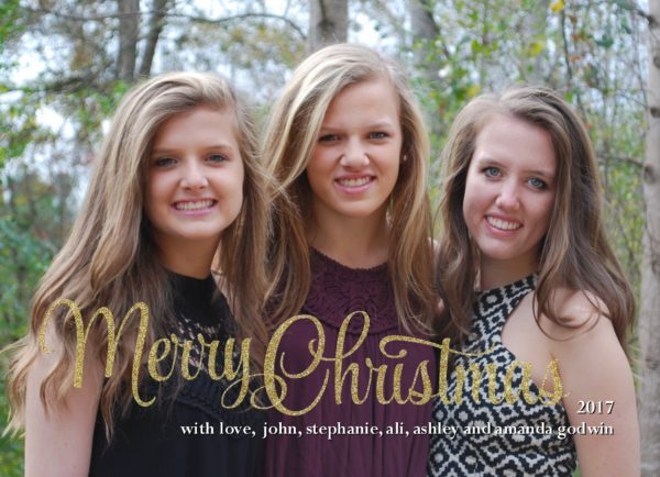 Merry Christmas Holiday Card